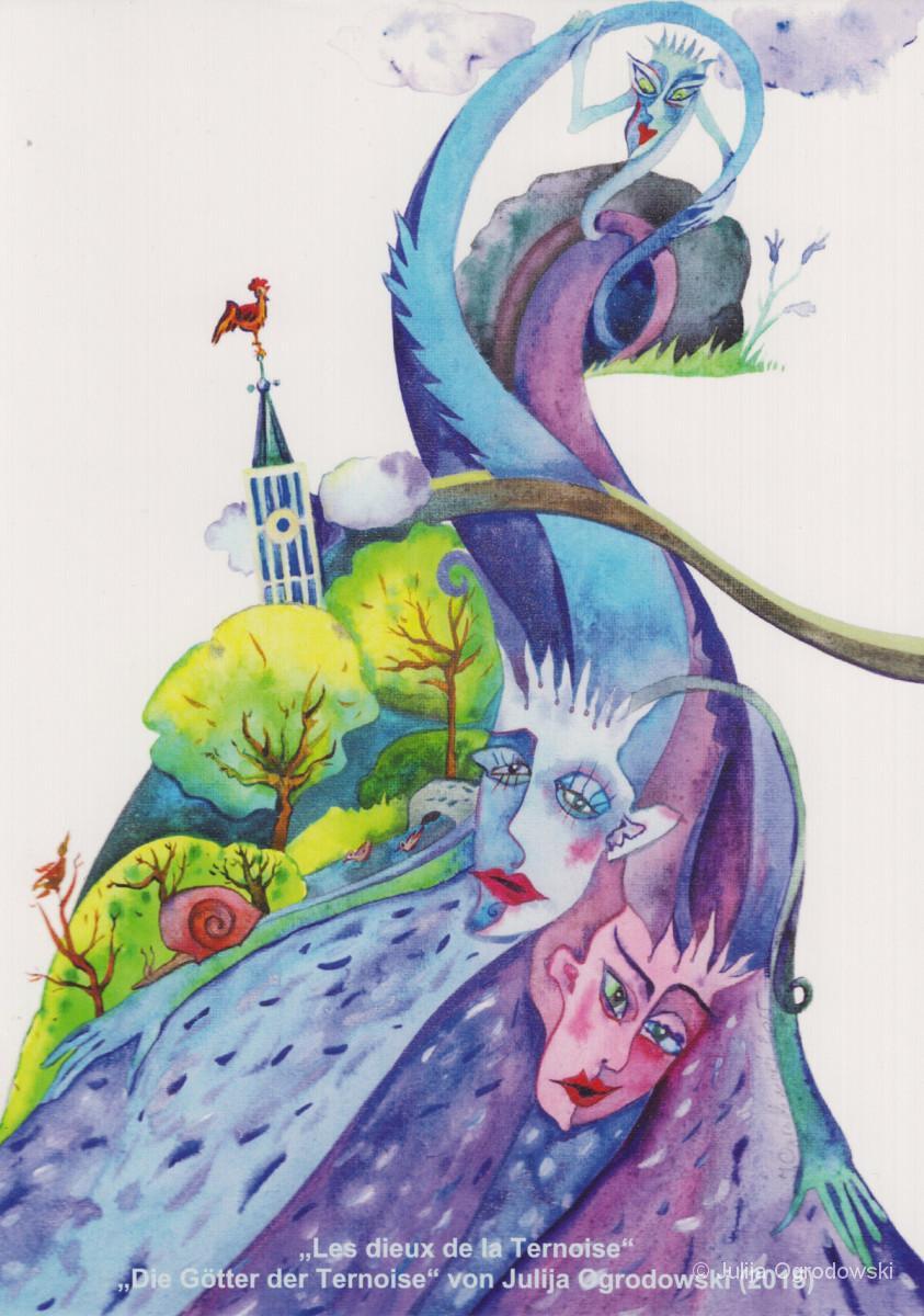 Die Gotter der Ternoise - Julija Ogrodowski