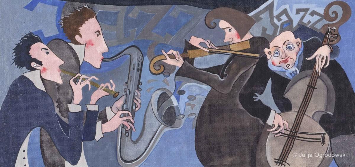 Jazzquarttet - Julija Ogrodowski