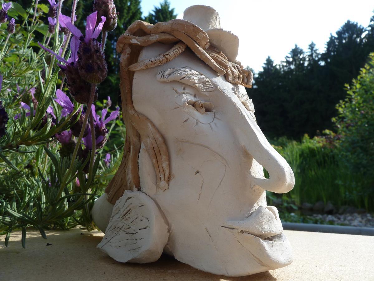 Keramik ohne Glasur - Julija Ogrodowski