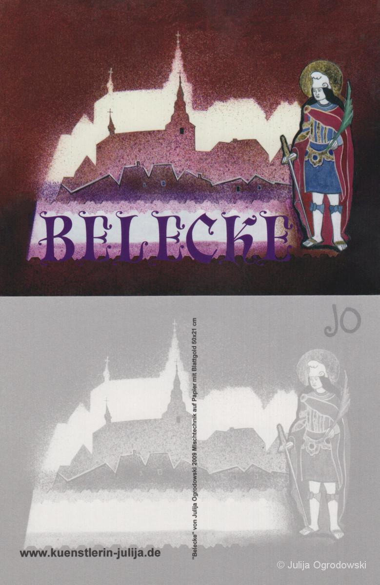 Postkarte Belecke - Julija Ogrodowski