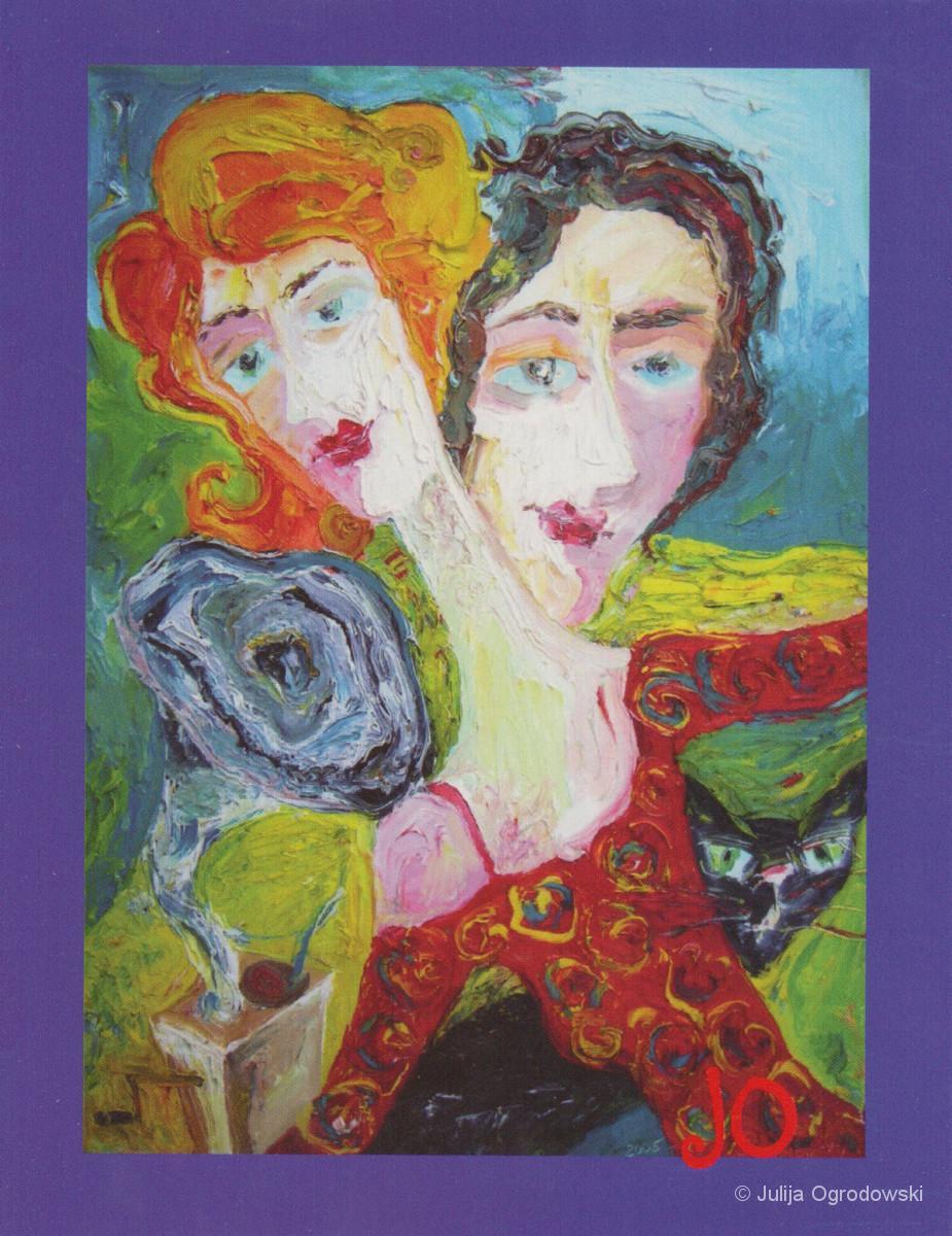 Postkarte Der Tanz - Julija Ogrodowski