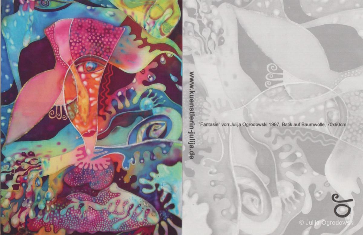 Postkarte Fantasie - Julija Ogrodowski