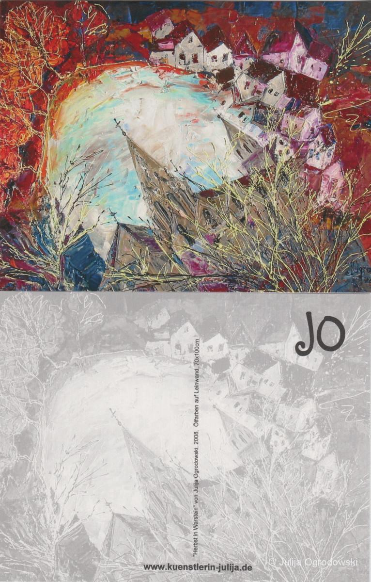 Postkarte Warstein im Herbst - Julija Ogrodowski