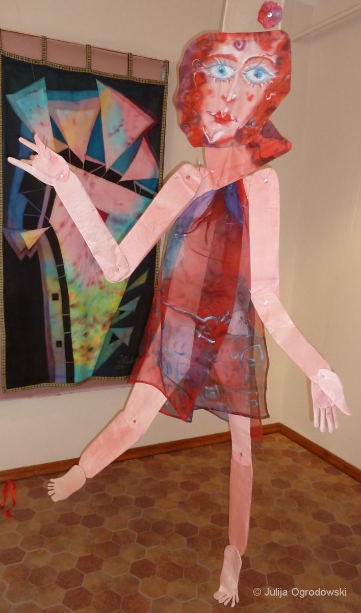 3D-Figur Die Rhapsody in Blue - Julija Ogrodowski