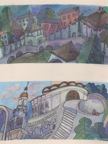 Astrachan Stadtansichten