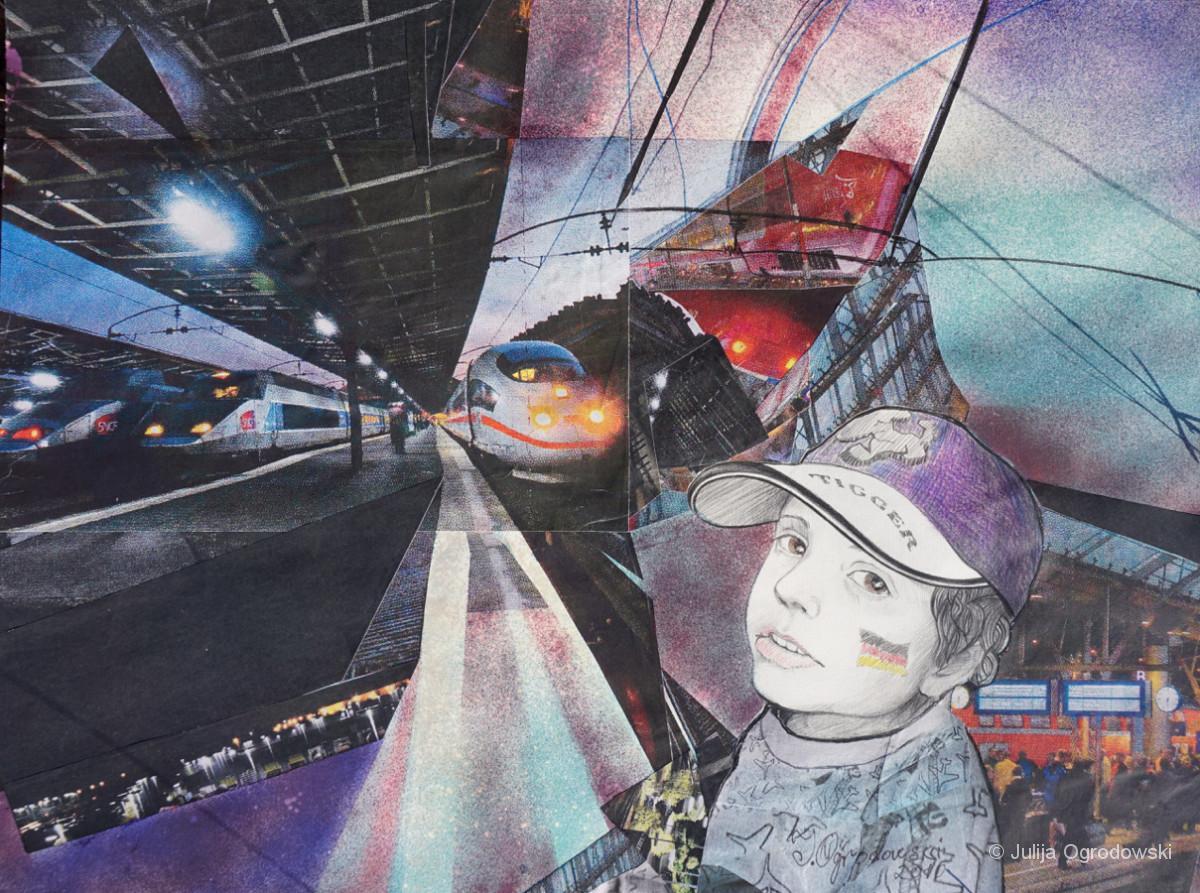 Spannende Abenteuer auf dem Bahnhof - Julija Ogrodowski