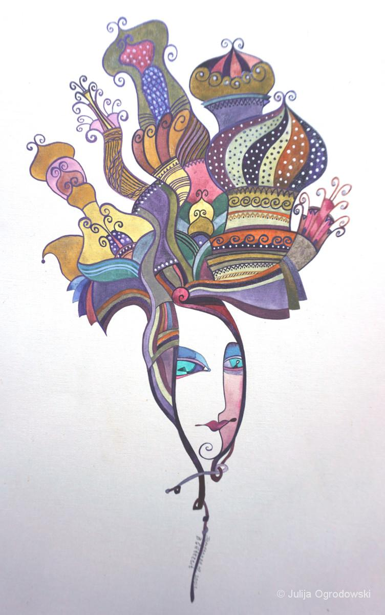 Bluetezeit - Julija Ogrodowski