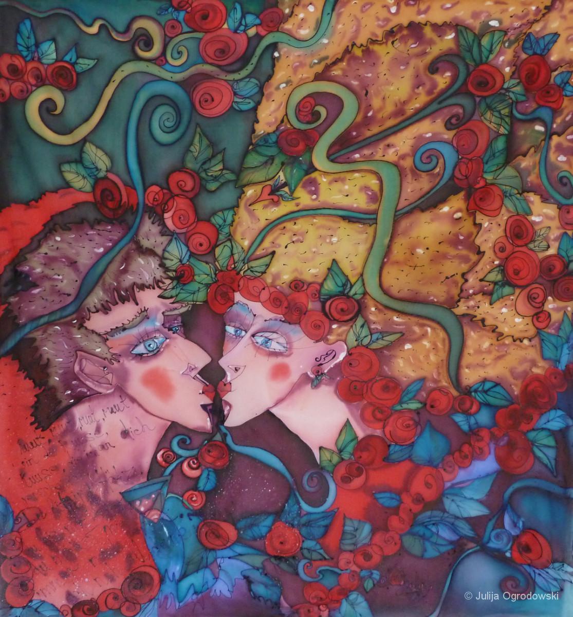 Rot sind die Rosen - Julija Ogrodowski