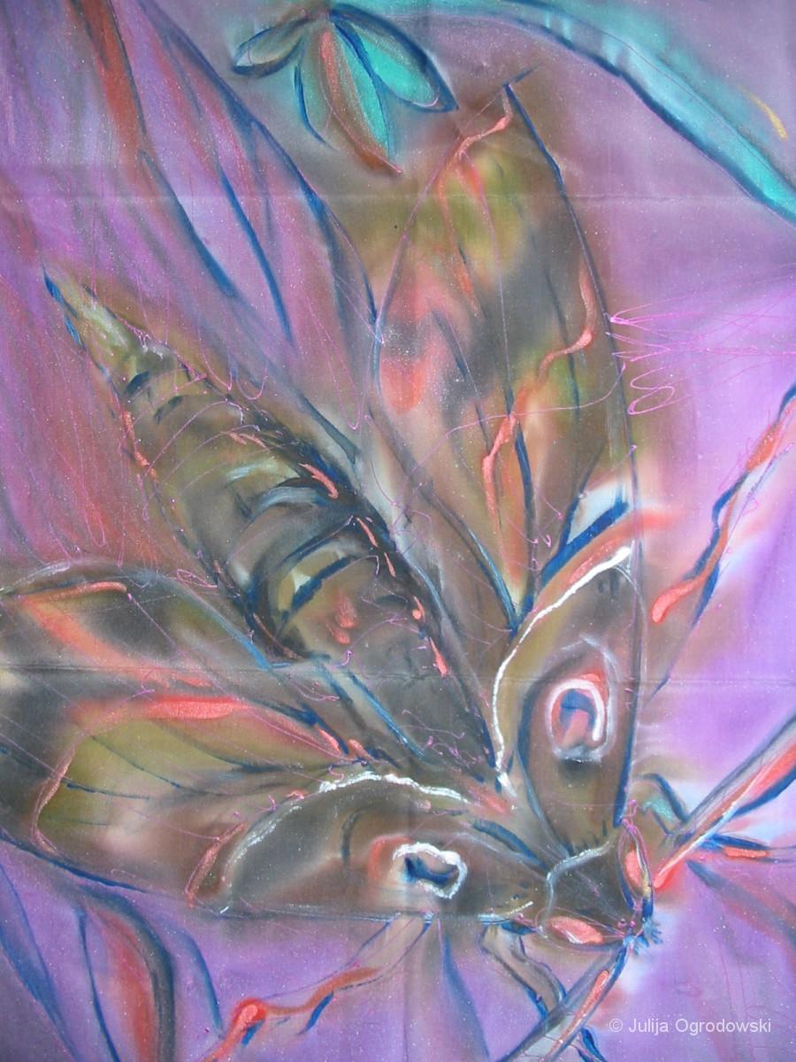Schmetterling Daphnis nerii - Julija Ogrodowski