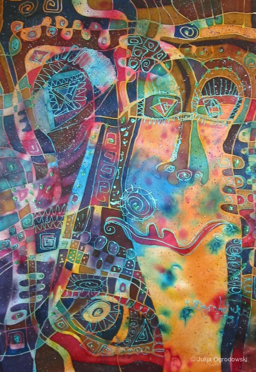 Serie Denkformen abstrakt - Julija Ogrodowski