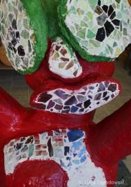 """Kunstprojekt """"Skulptur aus Betonmasse"""" (LIOBA-Grundschule in Warstein-Suttrop)"""